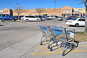 An exterior view of the Red Bird Wal-Mart Supercenter on Thursday, January 31, 2013 in Dallas, Texas. (Cooper Neill/The Dallas Morning News)