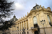 Paris January 29, 2007 -  View of the Petit Palais, Built for the Universal Exhibition in 1900 by architect Charles Girault, it now houses the Mus?e des Beaux-Arts REPORTERS©Jean-Michel Clajot