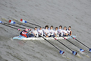 Putney/Barnes,  Great Britain,  Walton 1, - 2008 Head of the River Race. Raced from Mortlake to Putney, over the Championship Course.  15/03/2008  [Mandatory Credit. Peter Spurrier/Intersport Images] Rowing Course: River Thames, Championship course, Putney to Mortlake 4.25 Miles,