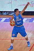 DESCRIZIONE : Trento Nazionale Italia Uomini Trentino Basket Cup Italia Belgio Italy Belgium<br /> GIOCATORE : Andrea Cinciarini<br /> CATEGORIA : Palleggio Schema<br /> SQUADRA : Italia Italy<br /> EVENTO : Trentino Basket Cup<br /> GARA : Italia Belgio Italy Belgium<br /> DATA : 12/07/2014<br /> SPORT : Pallacanestro<br /> AUTORE : Agenzia Ciamillo-Castoria/Max.Ceretti<br /> Galleria : FIP Nazionali 2014<br /> Fotonotizia : Trento Nazionale Italia Uomini Trentino Basket Cup Italia Belgio Italy Belgium