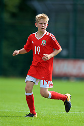 NEWPORT, WALES - Wednesday, July 25, 2018: Damian Widdas during the Welsh Football Trust Cymru Cup 2018 at Dragon Park. (Pic by Paul Greenwood/Propaganda)