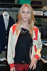 LADY MARY CHARTERIS at a party to celebrate the reopening of the Lacoste Premium Store at 233 Regent Street, London on 28th May 2014.