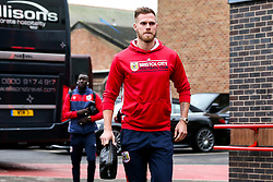 Tomas Kalas of Bristol City arrives at the City Ground for the Sky Bet Championship fixture against Nottingham Forest - Mandatory by-line: Robbie Stephenson/JMP - 19/01/2019 - FOOTBALL - The City Ground - Nottingham, England - Nottingham Forest v Bristol City - Sky Bet Championship