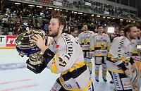 Victoire Rouen / Joie Loic LAMPERIER  - 25.01.2015 - Rouen / Amiens - Finale Coupe de France 2015 de Hockey sur glace<br />Photo : Xavier Laine / Icon Sport