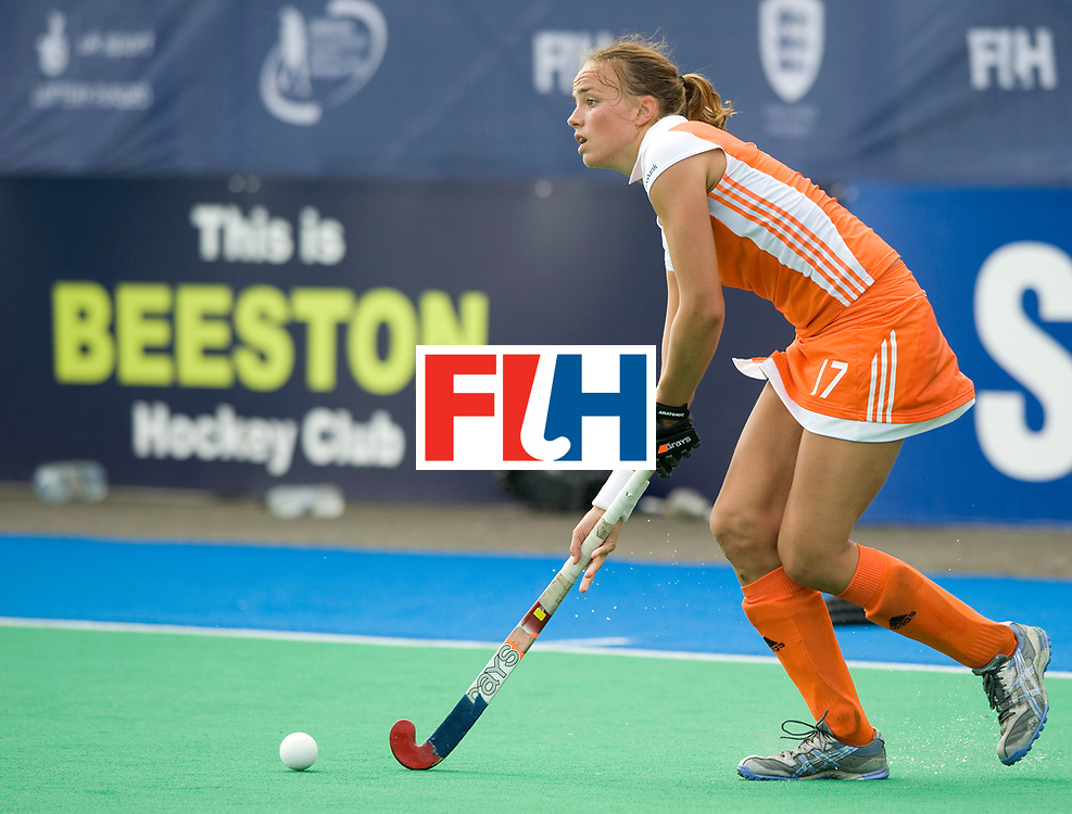 Netherlands' Maartje Pauman  during their Women's Champions Trophy Final at Highfields, Beeston, Nottingham, 18th July 2010.
