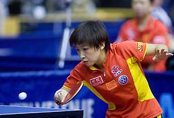 Liu Shiwen of China at 10th Slovenian Open Table Tennis Championships - Pro Tour Velenje Slovenian Open tournament, in Round 1, on January 15, 2009, in Red sports hall, Velenje, Slovenia. (Photo by Vid Ponikvar / Sportida)