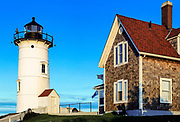 Nobska Point Light.Woods Hole, Cape Cod, Massachusetts