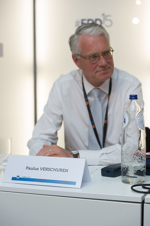03 June 2015 - Belgium - Brussels - European Development Days - EDD - Food - Smallholder farmers powering global development - Paulus Verschuren<br /> Founder of WorldFed; Formerly Special Envoy for Food and Nutrition Security for the Dutch government &copy; European Union
