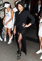 LONDON - JUNE 28: Ana Araujo attends The Slazenger Party, Aqua, London, UK. June 28, 2012 (Photo by Brett Cove/piQtured)