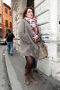 2013/03/06 Roma, Riunione della direzione del Partito Democratico. Nella foto Rosaria Capacchione.<br /> Rome, Partito Democratico meeting of national leadership. In the picture Rosaria Capacchione - &copy; PIERPAOLO SCAVUZZO