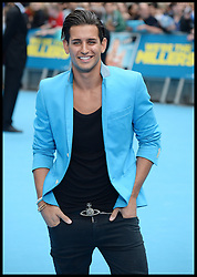 Ollie Locke arrives for the We're The Millers - European Film Premiere. Odeon, London, United Kingdom. Wednesday, 14th August 2013. Picture by Andrew Parsons / i-Images