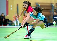 VIANEN - Klaartje de Bruijn (Lar) Zaalhockey Laren-Oranje Rood dames.  COPYRIGHT KOEN SUYK