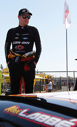 April 28, 2018 - Talladega, AL, U.S. - TALLADEGA, AL - APRIL 28:Alex Labbe, DGM Racing, Chevrolet Camaro Can-Am / Wholey / Cyclops Gear  during qualifying for the 27th annual Sparks Energy 300 on Saturday April 28, 2018 at Talladega Superspeedway in Talladega, Alabama (Photo by Jeff Robinson/Icon Sportswire) (Credit Image: © Jeff Robinson/Icon SMI via ZUMA Press)