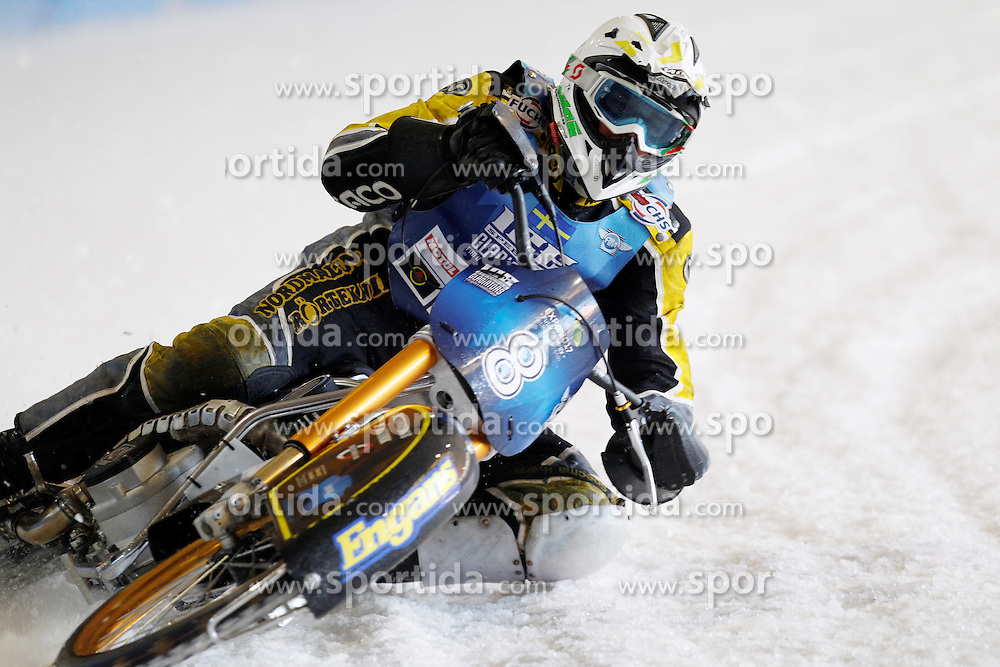 13.03.2016, Assen, BEL, FIM Eisspeedway Gladiators, Assen, im Bild Ove Ledstroem (SWE) // during the Astana Expo FIM Ice Speedway Gladiators World Championship in Assen, Belgium on 2016/03/13. EXPA Pictures &copy; 2016, PhotoCredit: EXPA/ Eibner-Pressefoto/ Stiefel<br /> <br /> *****ATTENTION - OUT of GER*****