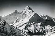 Nanda Devi, 7816 m, Garhwal Himalaya, highest peak wholly within India. Photo: Michael Rheinberger / Colin Monteath archive.