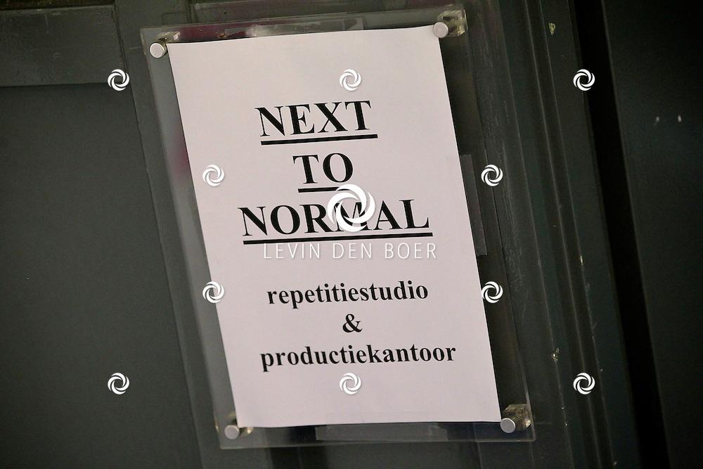 AMSTERDAM - In de Dutch Studio mocht vandaag de pers een kijkje nemen bij de repetities van de musical Next to Normal. FOTO LEVIN DEN BOER - PERSFOTO.NU