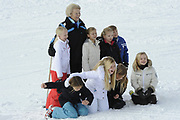 Fotosessie met de koninklijke familie in Lech /// Photoshoot with the Dutch royal family in Lech .<br /> <br /> Op de foto / On the photo:  Prinses Beatrix met Prinses Alexia , Prinses Ariane Prinses Luana , Prinses Zaria , Prinses Eloise, Prins Claus-Casimir , Prinses Léonore  ///// Princess Beatrix and Princess Alexia, Princess Ariane Princess Luana, Princess Zaria, Princess Eloise, Prince Claus-Casimir, Princess Leonore