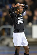 Onderwerp/Subject: RKC Waalwijk - Eredivisie<br /> Reklame:  <br /> Club/Team/Country: <br /> Seizoen/Season: 2012/2013<br /> FOTO/PHOTO: Cuco MARTINA ( Rhu Endly MARTINA )  of RKC Waalwijk dejected after the match. (Photo by PICS UNITED)<br /> <br /> Trefwoorden/Keywords: <br /> #03 $94 ±1342772543138 ±1342772543138<br /> Photo- & Copyrights © PICS UNITED <br /> P.O. Box 7164 - 5605 BE  EINDHOVEN (THE NETHERLANDS) <br /> Phone +31 (0)40 296 28 00 <br /> Fax +31 (0) 40 248 47 43 <br /> http://www.pics-united.com <br /> e-mail : sales@pics-united.com (If you would like to raise any issues regarding any aspects of products / service of PICS UNITED) or <br /> e-mail : sales@pics-united.com   <br /> <br /> ATTENTIE: <br /> Publicatie ook bij aanbieding door derden is slechts toegestaan na verkregen toestemming van Pics United. <br /> VOLLEDIGE NAAMSVERMELDING IS VERPLICHT! (© PICS UNITED/Naam Fotograaf, zie veld 4 van de bestandsinfo 'credits') <br /> ATTENTION:  <br /> © Pics United. Reproduction/publication of this photo by any parties is only permitted after authorisation is sought and obtained from  PICS UNITED- THE NETHERLANDS