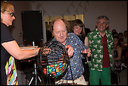 RICHARD WILSON, Matt's Gallery 35th birthday fundraising supper.  42-44 Copperfield Road, London E3 4RR. 12 June 2014.