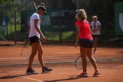 Tenis U14 league girls finals in Sport park Radomlje, 30th of August, 2019, Radomlje,  Slovenija. Photo by Grega Valancic / Sportida