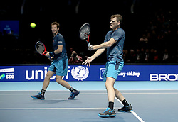 Andy (left) and Jamie Murray during the Andy Murray Live Event at the SSE Hydro, Glasgow.