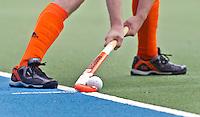 AMSTELVEEN -  ILLUSTRATIE -Teun de Nooijer geeft de strafcorner aan. De mannen van het Nederlands Hockeyteam hebben zondag, ter voorbereiding aan het EK dat volgende week in Duitsland wordt gehouden, geoefend tegen Canada (7-2).     Copyright Koen Suyk.