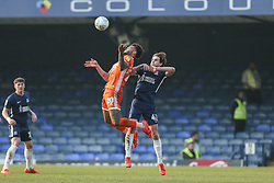 Aaron Holloway of Shrewsbury Town climbs highest to win the ball - Mandatory by-line: Arron Gent/JMP - 30/03/2019 - FOOTBALL - Roots Hall - Southend-on-Sea, England - Southend United v Shrewsbury Town - Sky Bet League One