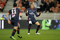 FOOTBALL - FRENCH CHAMPIONSHIP 2009/2010 - L1 - PARIS SG v FC SOCHAUX - 13/03/2010 - PHOTO JEAN MARIE HERVIO / DPPI - JOY GUILLAUME HOARAU (PSG) AFTER HIS GOAL