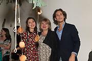 SVETLANA MARICH; ANGELINA REDKINA; LAURENCE VAN HAGEN, Art Night Party, Phillips de Pury. 24 May 2018