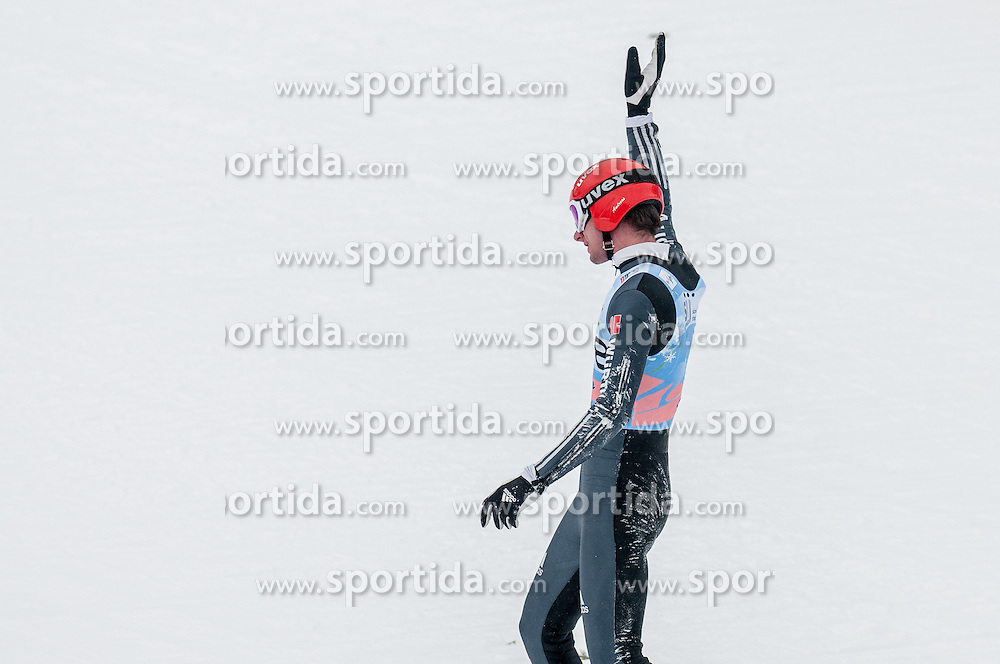 Andreas Wank of Germany during the Flying Hill Individual Competition at 4th day of FIS Ski Jumping World Cup Finals Planica 2013, on March 24, 2013, in Planica, Slovenia (Photo by Grega Valancic / Sportida.com)