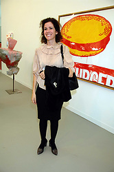 MOLLIE DENT-BROCKLEHURST at the opening of Frieze Art Fair 2007 held in regent's Park, London on 10th October 2007.<br />