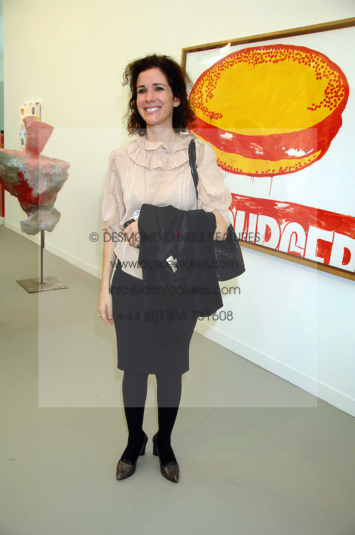 MOLLIE DENT-BROCKLEHURST at the opening of Frieze Art Fair 2007 held in regent's Park, London on 10th October 2007.<br /><br />NON EXCLUSIVE - WORLD RIGHTS