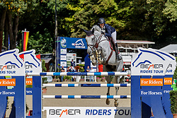 JOOST Annabel (USA), Primus Vom Neumuehler Hof<br /> Paderborn - OWL Challenge 5. Etappe BEMER Riders Tour 2019<br /> Großer Preis von Paderborn (CSI3*)<br /> Springprüfung mit 2 Umläufen, international <br /> BEMER Riders Tour, Wertungsprüfung 5. Etappe <br /> 15. September 2019<br /> © www.sportfotos-lafrentz.de/Stefan Lafrentz