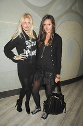 Left to right, Marissa Montgomery and Kate Bellm at the launch party for 'The End of Summer Ball' in Berkeley Square held at Nobu Berkeley, 15 Berkeley Street, London on 7th April 2008.<br />