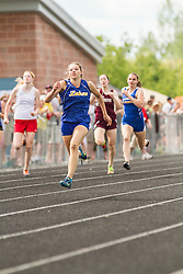 Maine State Track & Field Meet, Class B: girls 200 meters, Kate Hall, Lake Region, state record