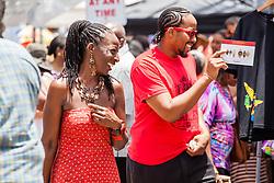 """Alvin's Cultural Workshop"" Cultural Fair honoring Mr. Alvin Turnbull.  Emancipation Garden.  St. Thomas, VI.  29 April 2015.  © Aisha-Zakiya Boyd"