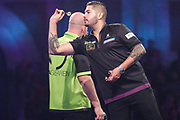 Jelle Klaasen during the PDC William Hill Darts World Championship at Alexandra Palace, London, United Kingdom on 13 December 2019.