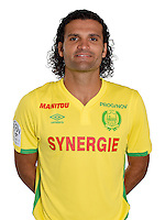 Oswaldo Vizcarrondo during photocall of Fc Nantes for new season of Ligue 1 on September 14th 2016<br /> Photo : Fcna / Icon Sport