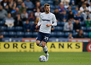 Tom Barkhuizen of Preston North End during the EFL Sky Bet Championship match between Preston North End and Millwall at Deepdale, Preston, England on 23 September 2017. Photo by Paul Thompson.