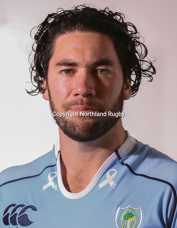 Warren Dunn. Headshots of the Northland ITM Cup rugby union team for the 2015 season.