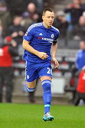 JOHN TERRY CHELSEA,  MK Dons v Chelsea,  FA Cup 4th Round Stadium MK Sunday 31st January 2016