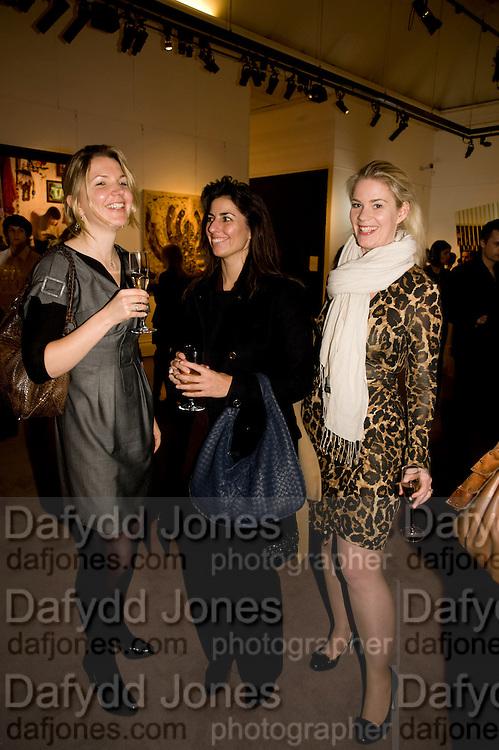 CHRISTINA SANDERSON; JENNA MACK; CHRISTINA BOHM; , Contemporary art Turkish. Sothebys. New Bond St. London. 2 March 2009 *** Local Caption *** -DO NOT ARCHIVE -Copyright Photograph by Dafydd Jones. 248 Clapham Rd. London SW9 0PZ. Tel 0207 820 0771. www.dafjones.com<br /> CHRISTINA SANDERSON; JENNA MACK; CHRISTINA BOHM; , Contemporary art Turkish. Sothebys. New Bond St. London. 2 March 2009