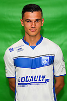 Loic Goujon of Auxerre during Auxerre squad photo call for the 2016-2017 Ligue 2 season on September, 7 2016 in Auxerre, France ( Photo by Andre Ferreira / Icon Sport )