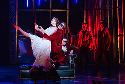 "© Licensed to London News Pictures. 04/12/2015. London, UK. Cordelia Braithwaite as Aurora. Matthew Bourne's ""Sleeping Beauty"", a Gothic Romance, is performed at Sadler's Wells from 1 Dec 2015 - 24 Jan 2016. Photo credit: Bettina Strenske/LNP"
