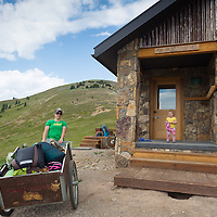 The Fowler/Hilliard Hut, owned and operated by 10th Mountain, was originally constructed in the summer of 1988. It was named for Ann Fowler and Ed Hilliard, avid mountaineers tragically killed in a climbing accident on North Maroon Peak near Aspen.