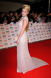 Sam Faiers at the National Television Awards held in London on Wednesday, 25th January 2012. Photo by: i-Images