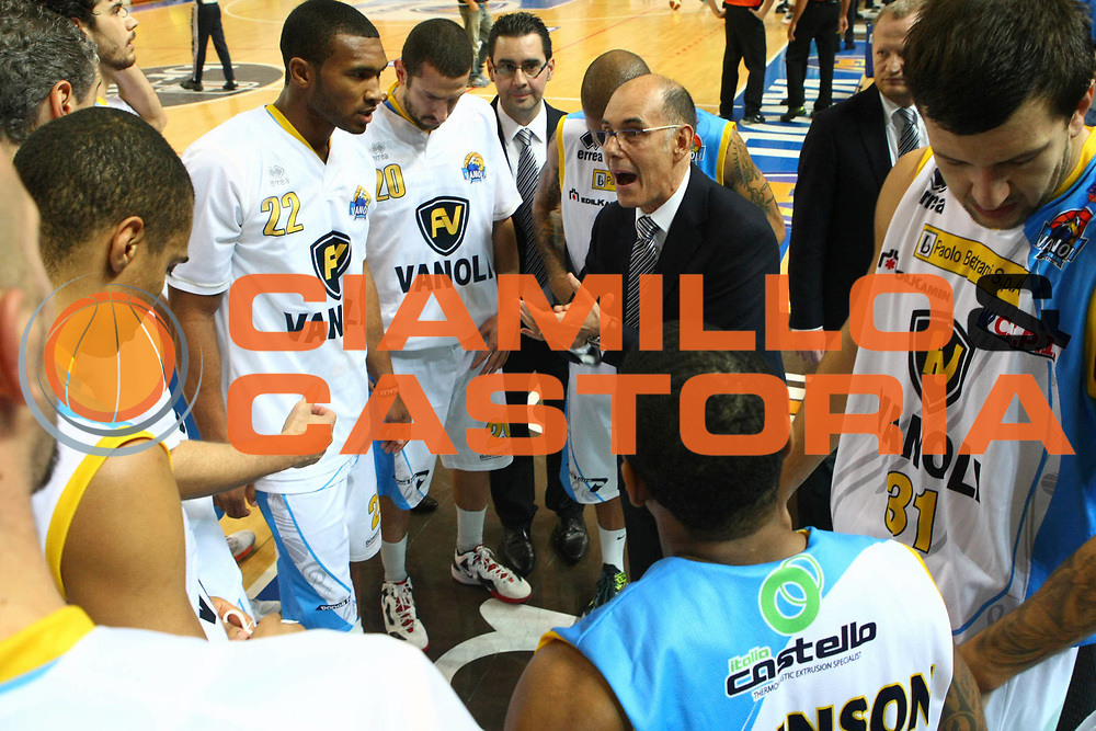 DESCRIZIONE : Cremona Lega A 2012-2013 Vanoli Cremona Sidigas Avellino<br /> GIOCATORE : Attilio Caja Coach Team Cremona<br /> SQUADRA : Vanoli Cremona<br /> EVENTO : Campionato Lega A 2012-2013<br /> GARA : Vanoli Cremona Sidigas Avellino<br /> DATA : 21/10/2012<br /> CATEGORIA : Coach<br /> SPORT : Pallacanestro<br /> AUTORE : Agenzia Ciamillo-Castoria/F.Zovadelli<br /> GALLERIA : Lega Basket A 2012-2013<br /> FOTONOTIZIA : Cremona Campionato Italiano Lega A 2012-2013 Vanoli Cremona Sidigas Avellino<br /> PREDEFINITA :