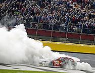 Brad Keselowski wins at Charlotte, 11 Oct 14 - BoA 500, Charlotte Motor Speedway, Charlotte, NC The Bank Perry, 10-11 Oct 2014 Bank of America 500, Charlotte, NC