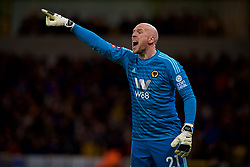 WOLVERHAMPTON, ENGLAND - Monday, January 7, 2019: Wolverhampton Wanderers' goalkeeper John Ruddy during the FA Cup 3rd Round match between Wolverhampton Wanderers FC and Liverpool FC at Molineux Stadium. (Pic by David Rawcliffe/Propaganda)
