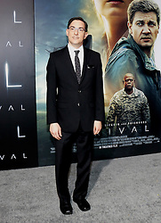 Eric Heisserer at the Los Angeles premiere of 'Arrival' held at the Regency Village Theater in Westwood, USA on November 6, 2016.